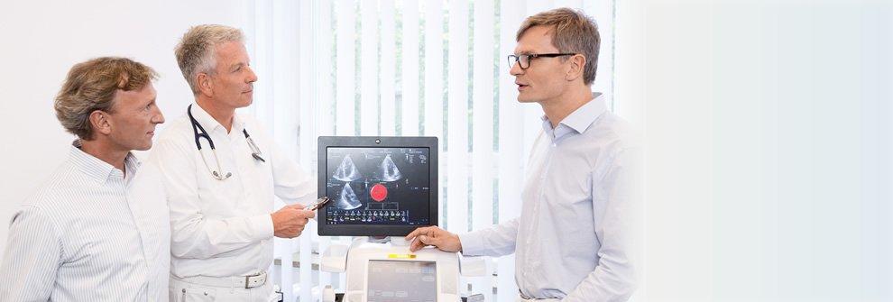 Kompetenten Untersuchung und Behandlung von Herz und Kreislauf