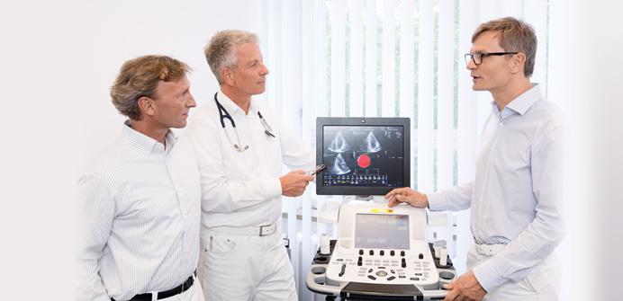 Herz Ultraschall, Echokardiographie und Stressecho in Berlin